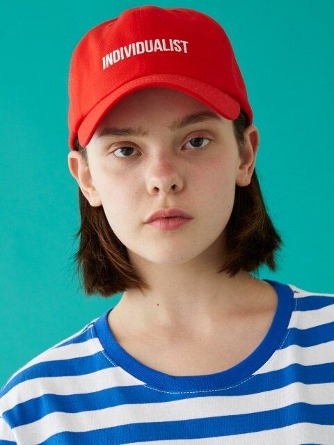 INDIVIDUALIST BALL CAP RED