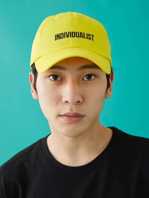 INDIVIDUALIST BALL CAP YELLOW