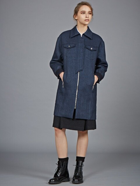 WOOL WORKWEAR COAT_NV