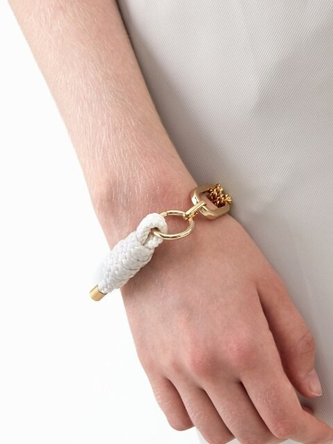 Big Shape Bold Chain and Rope Bracelet
