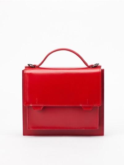 Polygon Top Handle mini crossbag