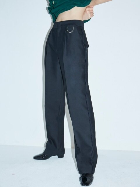 BUCKLE POINT TAILORED PANTS