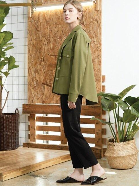 pocket field jacket Khaki