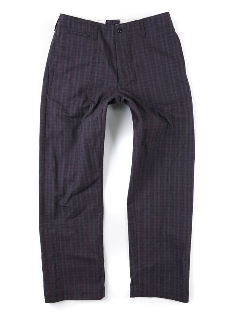 NEW ORLEANS CHECK PANTS [WINE]