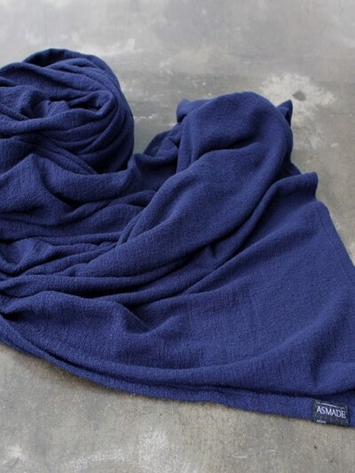 Light Knit Blanket 네이비