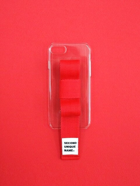 SUN CASE RIBBON CLEAR RED