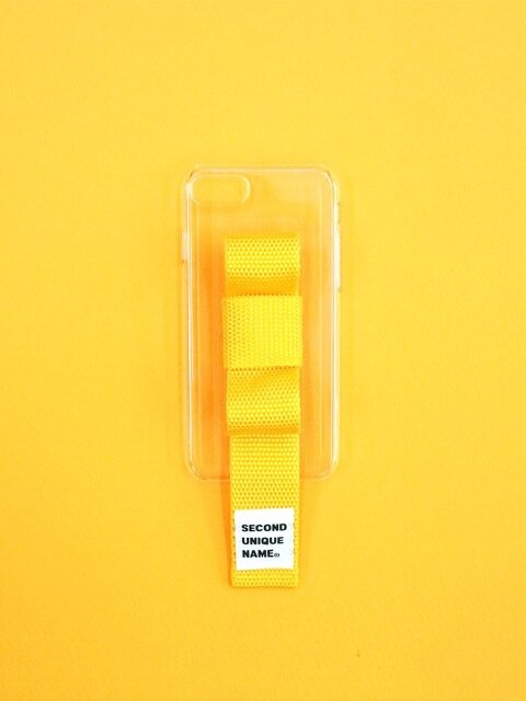 SUN CASE RIBBON CLEAR YELLOW