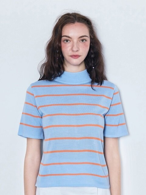pin stripe knit
