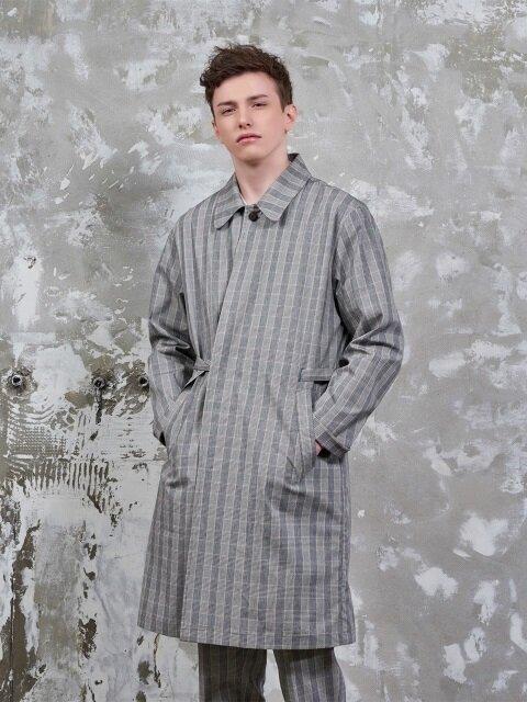 Edit Shirt Coat(Glan Check Brown)