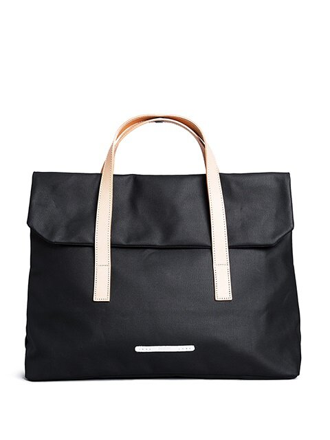 R TOTE 150 MINU RUGGED CANVAS BLACK