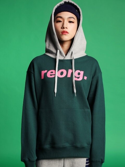 LOGO COLOR HOOD GREEN