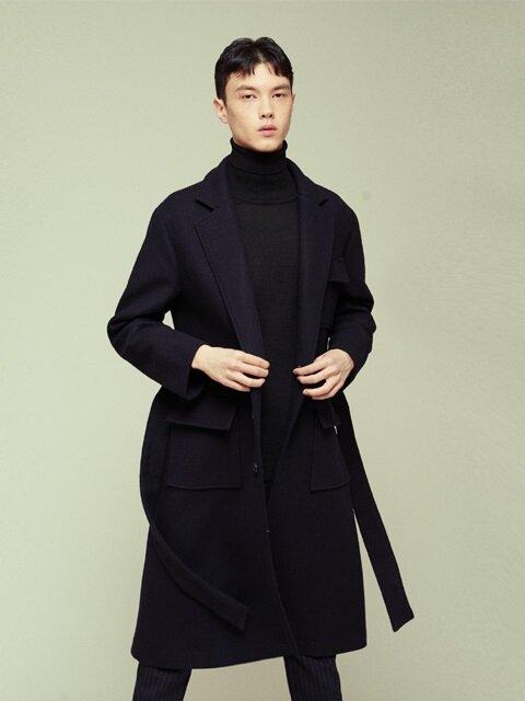 [15% SALE, 품절임박] POCKET LONG COAT