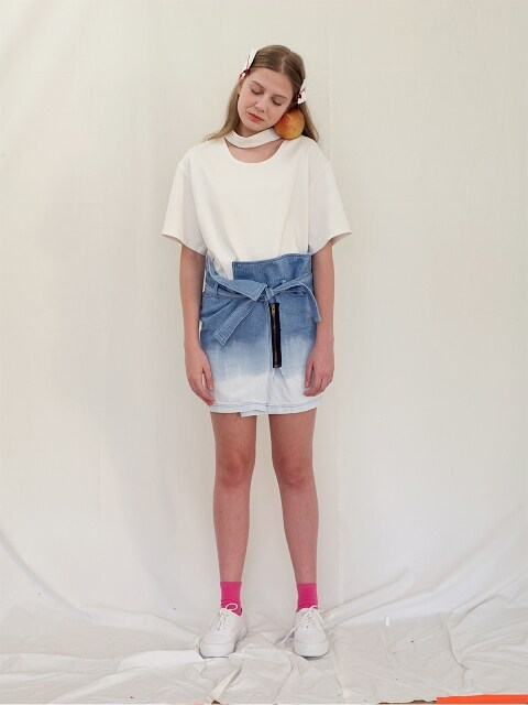 LIGHT BLEACH SKIRTS