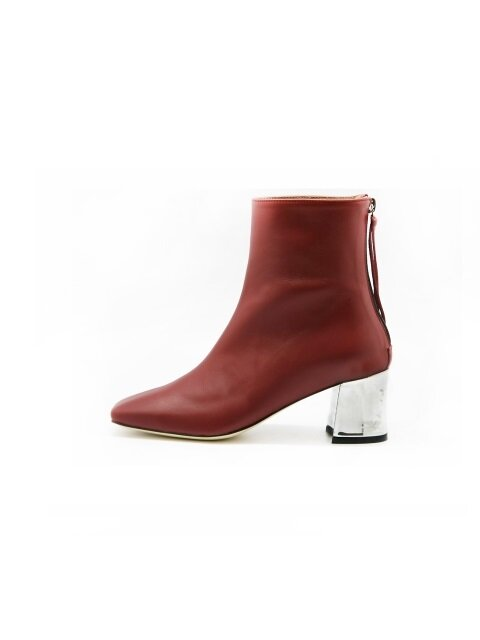 Square Ankle Boots/LG1-SB005