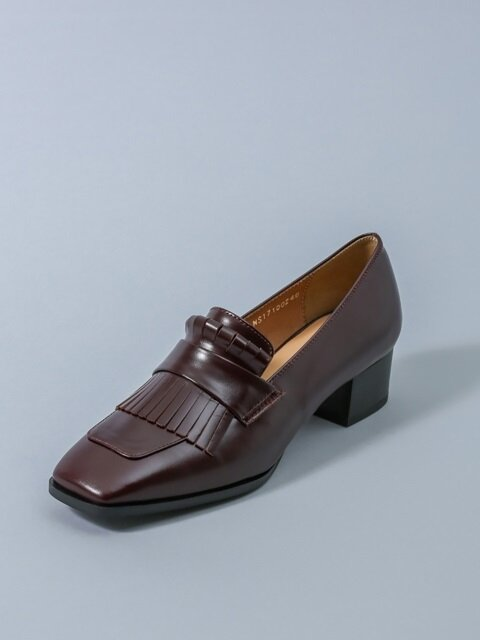 Tassel Loafer_Red Brown HS1710