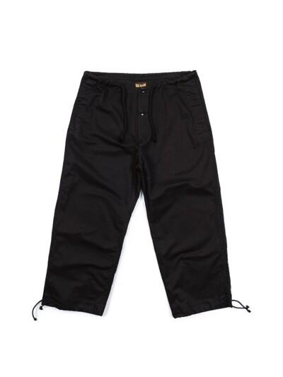 Millitary String Pants / Black