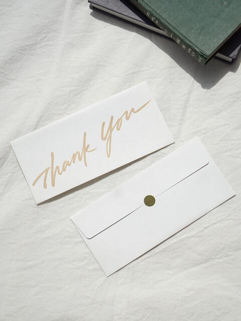 THANK YOU GIFT ENVELOPE (2EA)