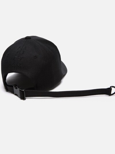 HIGH LIFE LONG VISOR CAP (BLACK)