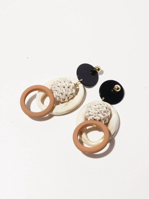 Monkey Shell Earrings