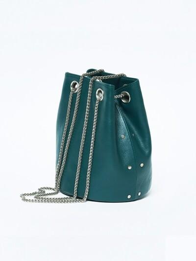12 MINI BUCKET / blue green