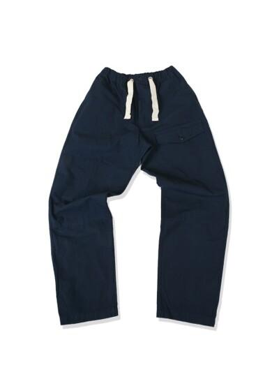 Swellmob string deck pants -navy-