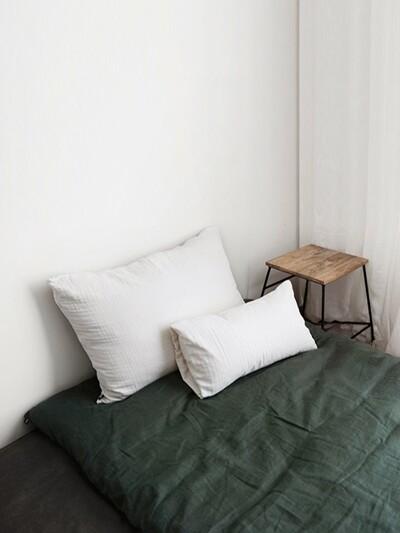 floor pad & filler (single/queen)_moss green