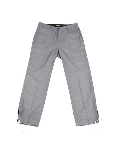 Vented Trouser Gray