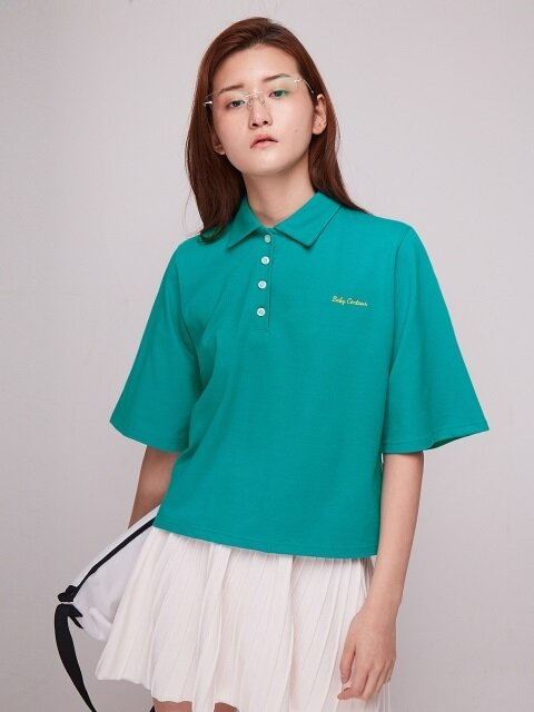 Baby Logo PK T-Shirt [BLUE GREEN]