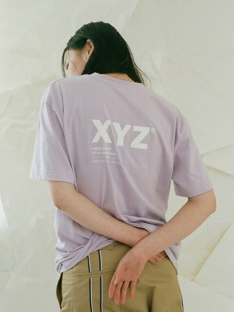 UNISEX LOGO T-SHIRT - LIGHT PURPLE