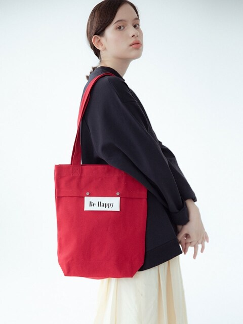 Sister Basic Canvas Bag (Red)