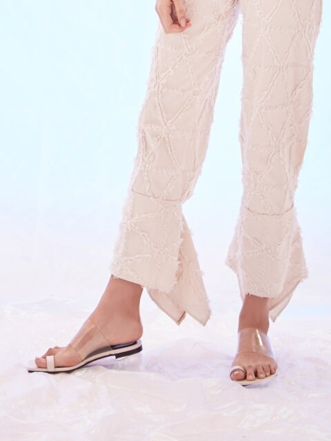 FERMATA TOE SLIPPER_WHITE
