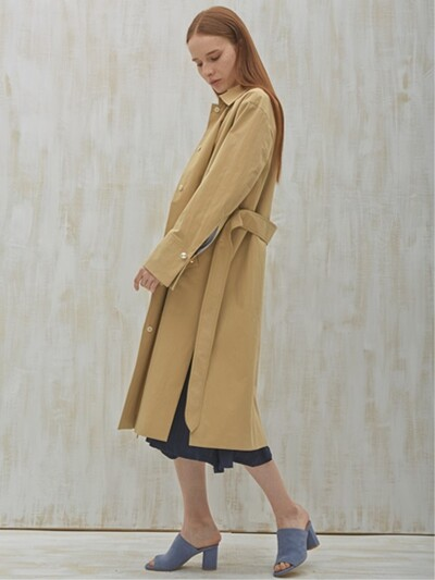 PEAL POINT TRENCH COAT