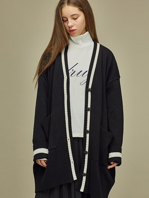[SALE 30%] MARCH CARDIGAN BK