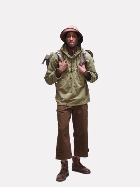 Dublin Pullover Deck Jacket(더블린 풀오버 덱 자켓) - Olive