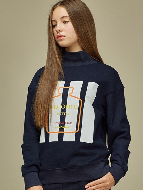 [SALE 60%]  BOTTLE SWEATSHIRT NY
