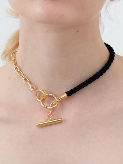 Rope and Chain Choker (2 colors)