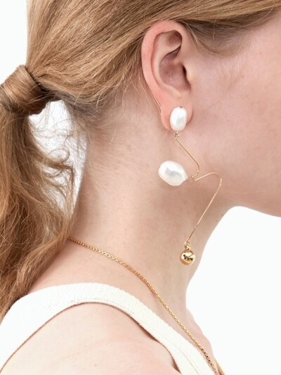 Ugly Pearl Earrings