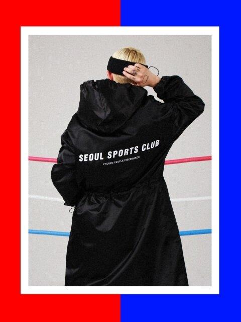 SSC BENCH COAT (BLACK)