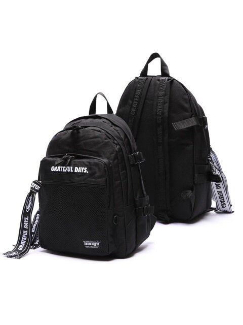 3D MESH BACKPACK M03 (BLACKBLACK)