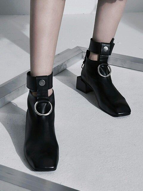 [MODERN LINE] Innocence Ornament Ankleboots