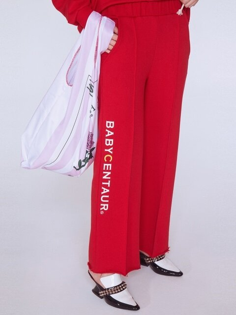 Baby Logo Sweat Pants [RED]