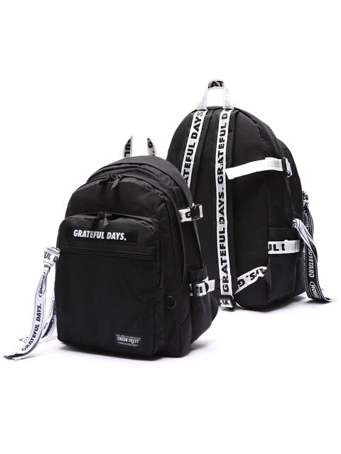 3D MESH BACKPACK M03 (WHITE BLACK)