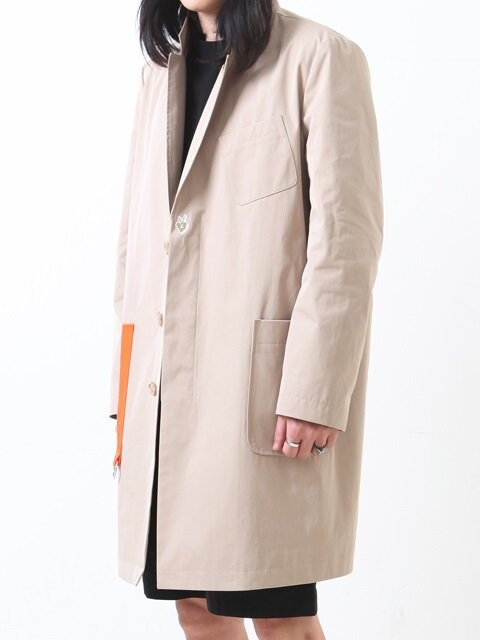 OVERSIZED RING COAT/BEIGE