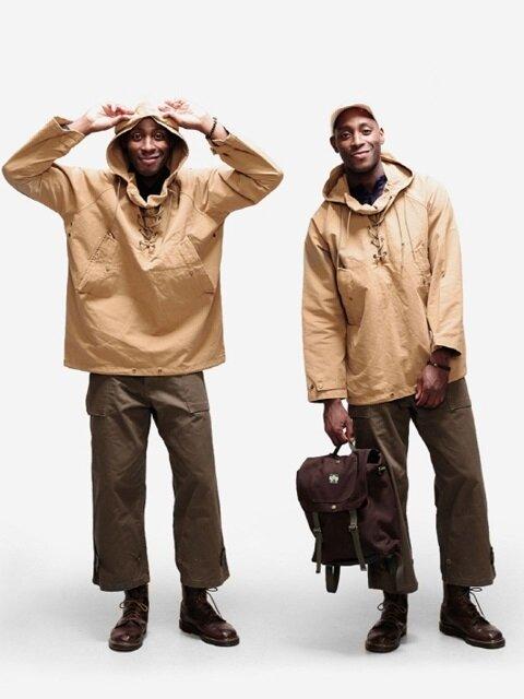 Dublin Pullover Deck Jacket(더블린 풀오버 덱 자켓) - Goldenrod