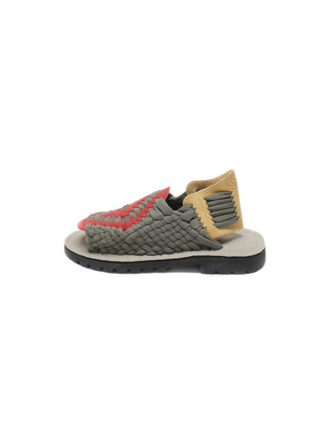 [MEN] AZTEC S80426 OLIVE/RED