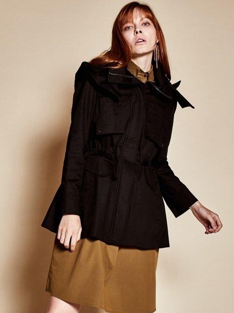 Half tight jacket_black