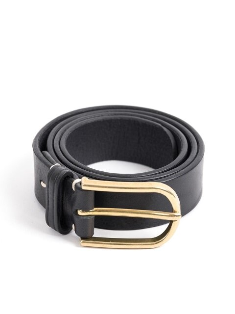 CLASSIC LEATHER BELT (black)