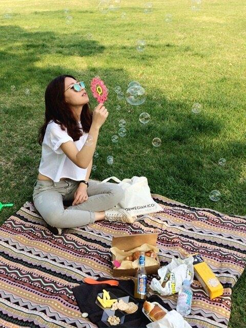 피크닉매트 picnic mat : Bercy