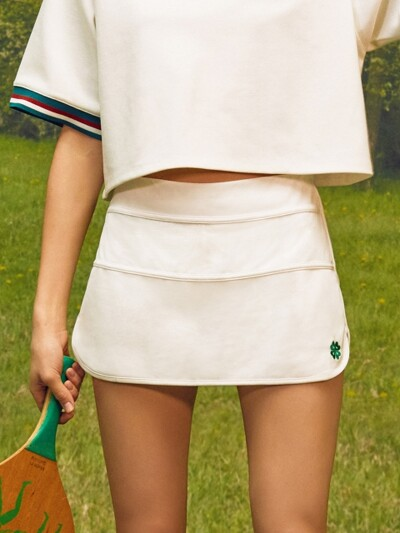 (SK-18151)ROLA SCOUT SPORTIVE SKIRT WHITE