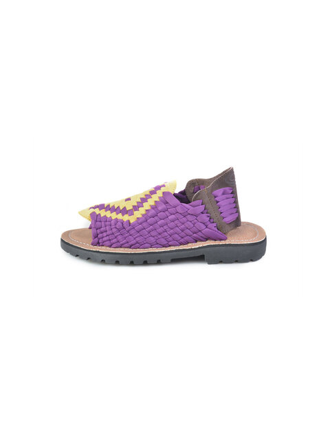 [MEN] AZTEC S150404 MORADO/YELLOW/TOBACCO